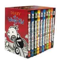Vignette du livre Diary of a Wimpy Kid Box of Books (Books 1-10)