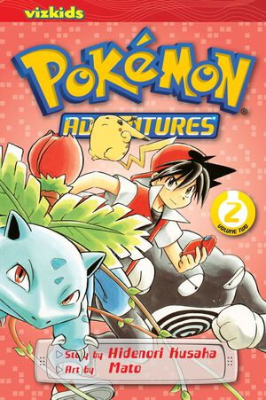Vignette du livre Pokémon Adventures (Red and Blue), Vol. 2