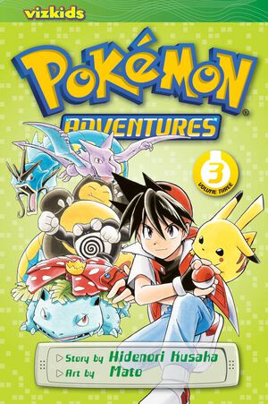 Vignette du livre Pokémon Adventures (Red and Blue), Vol. 3