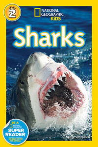 Vignette du livre National Geographic Readers: Sharks!