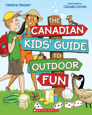 Vignette du livre The Canadian Kids' Guide to Outdoor Fun