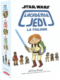 Star Wars, l'académie Jedi. La trilogie - Jeffrey Brown