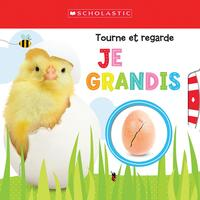Vignette du livre Apprendre avec Scholastic : Tourne et regarde : Je grandisScholastic Early Learners: Turn to Learn Watch Me Grow