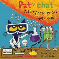Vignette du livre Pat le chat : À l'expo-sciences super cool