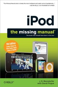 Vignette du livre iPod: The Missing Manual