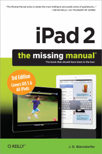 Vignette du livre iPad 2: The Missing Manual
