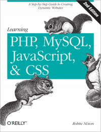 Vignette du livre Learning PHP, MySQL, JavaScript, and CSS