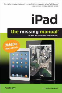 Vignette du livre iPad: The Missing Manual