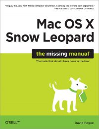 Vignette du livre Mac OS X Snow Leopard: The Missing Manual
