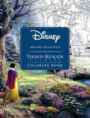 Vignette du livre Disney Dreams Collection Thomas Kinkade Studios Coloring Book