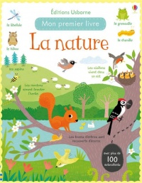 La nature : avec plus de 100 autocollants, Francesca Allen