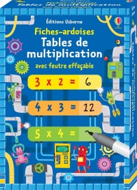 Tables de multiplication : fiches ardoises, Emi Ordas