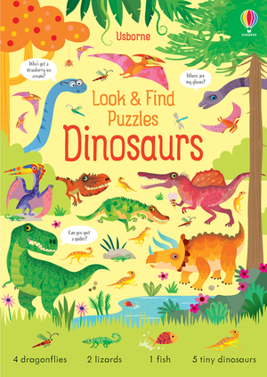 Vignette du livre Look And Find Puzzles: Dinosaurs