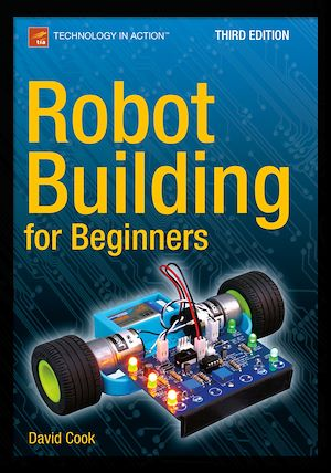Vignette du livre Robot Building for Beginners, Third Edition