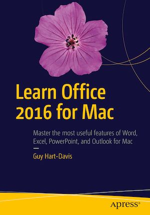 Vignette du livre Learn Office 2016 for Mac