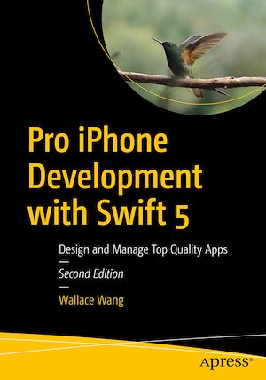 Vignette du livre Pro iPhone Development with Swift 5