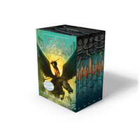 Vignette du livre Percy Jackson and the Olympians 5 Book Paperback Boxed Set (new covers w/poster)