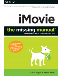 Vignette du livre iMovie: The Missing Manual