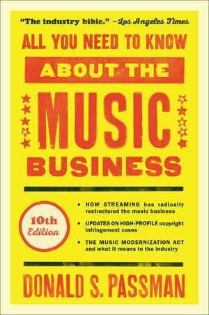 Vignette du livre All You Need to Know About the Music Business