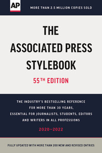 Vignette du livre The Associated Press Stylebook