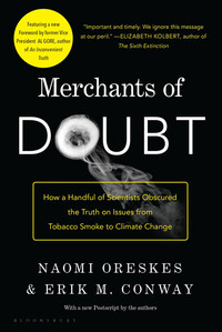 Vignette du livre Merchants of Doubt