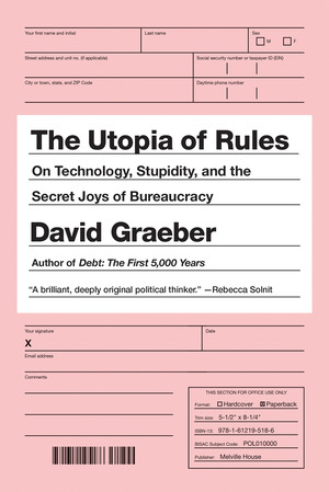 Vignette du livre The Utopia of Rules