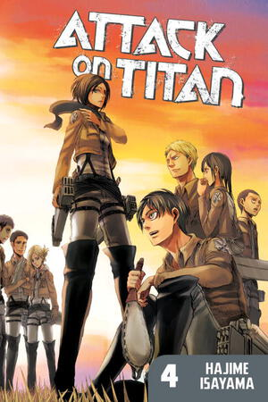 Vignette du livre Attack on Titan 4