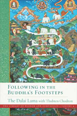 Vignette du livre Following in the Buddha's Footsteps