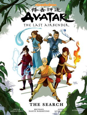Vignette du livre Avatar: The Last Airbender - The Search Library Edition
