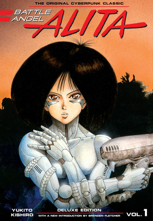 Vignette du livre Battle Angel Alita Deluxe 1 (Contains Vol. 1-2)