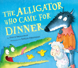 Vignette du livre The Alligator Who Came for Dinner
