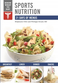 Vignette du livre Sport Nutrition : 21 days of menus