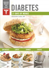 Vignette du livre Diabetes : 21 days of menus