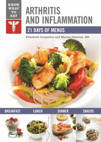 Vignette du livre Arthritis and Inflammation : 21 days of menus