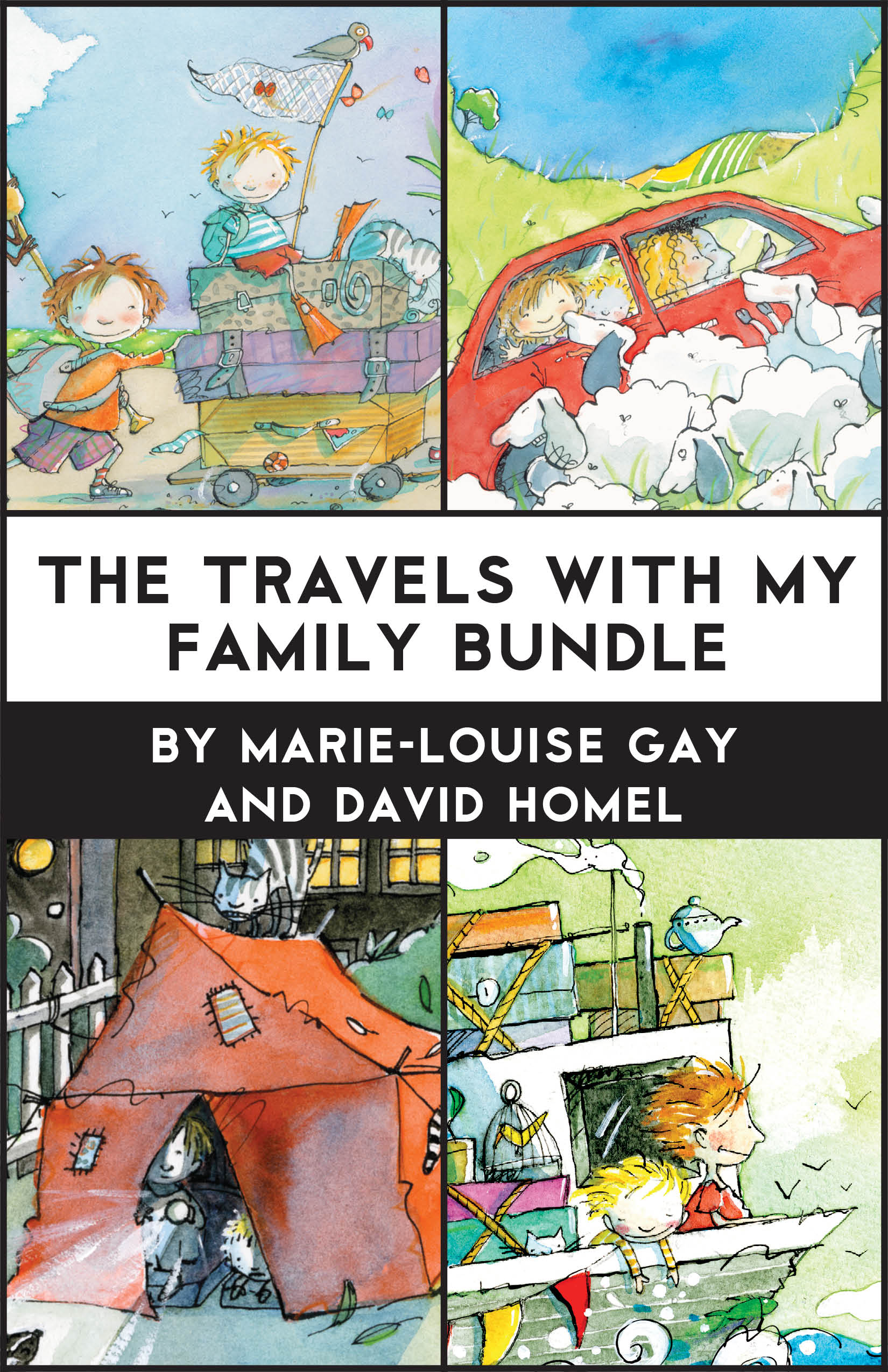 Vignette du livre The Travels with My Family
