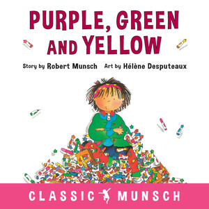Purple, Green and Yellow - Robert Munsch