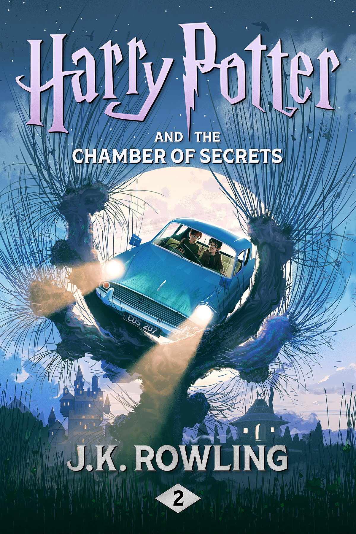 Vignette du livre Harry Potter and the Chamber of Secrets