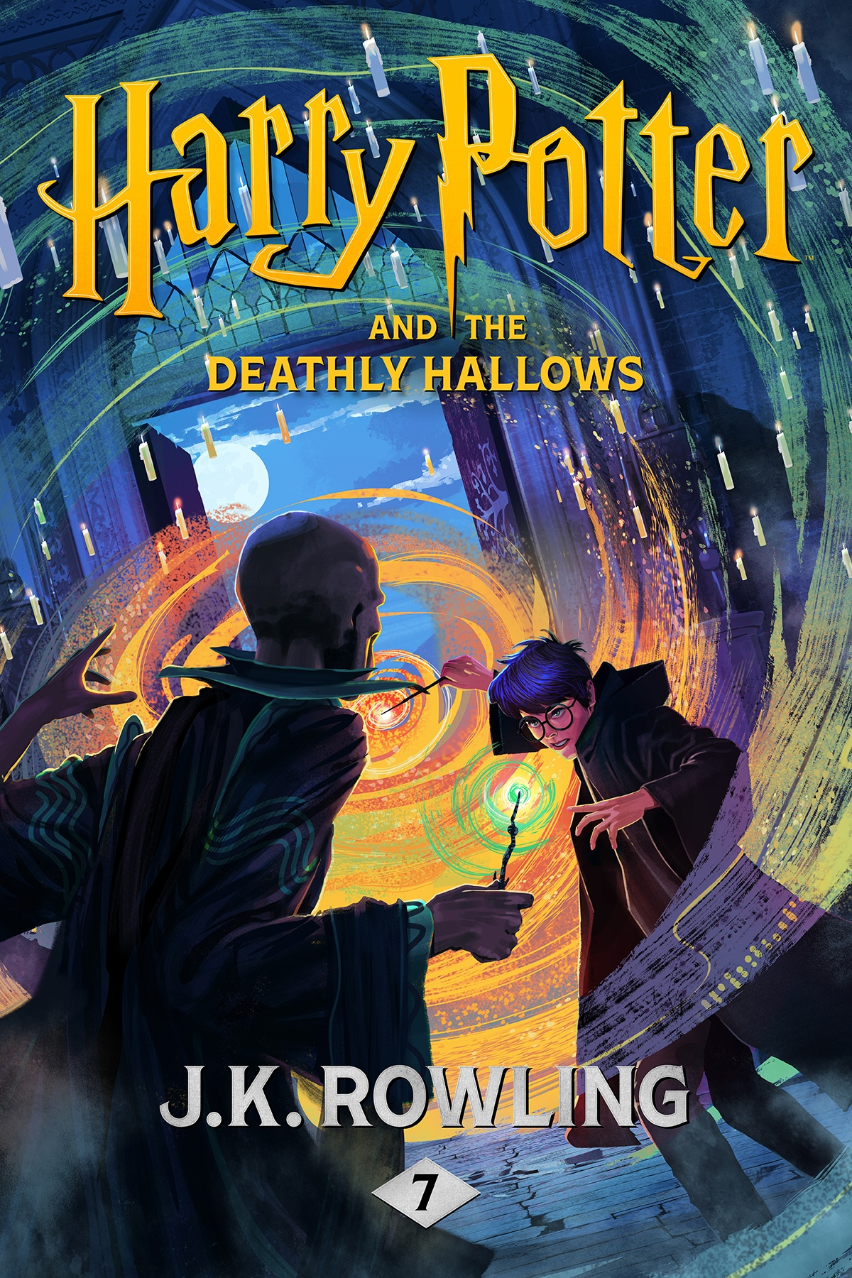 Vignette du livre Harry Potter and the Deathly Hallows