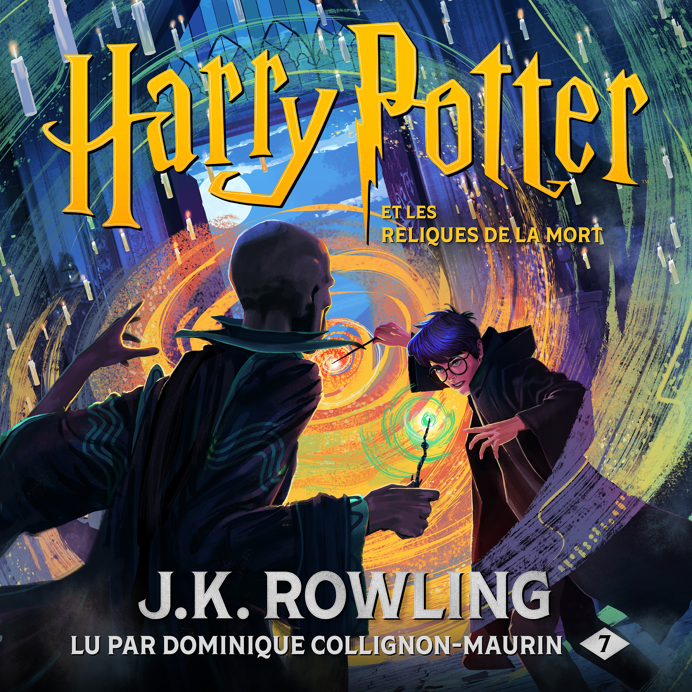 Vignette du livre Harry Potter T.7 : Harry Potter et les reliques...3 CD mp3(26h00)