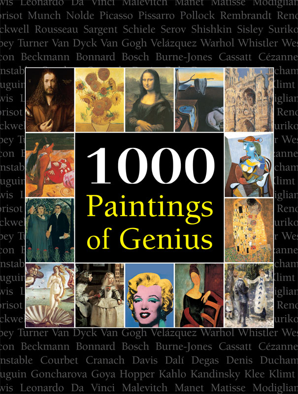 Vignette du livre 1000 Paintings of Genius