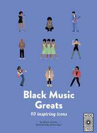 Vignette du livre 40 Inspiring Icons: Black Music Greats