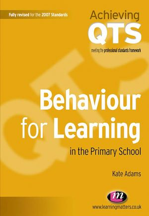 Vignette du livre Behaviour for Learning in the Primary School