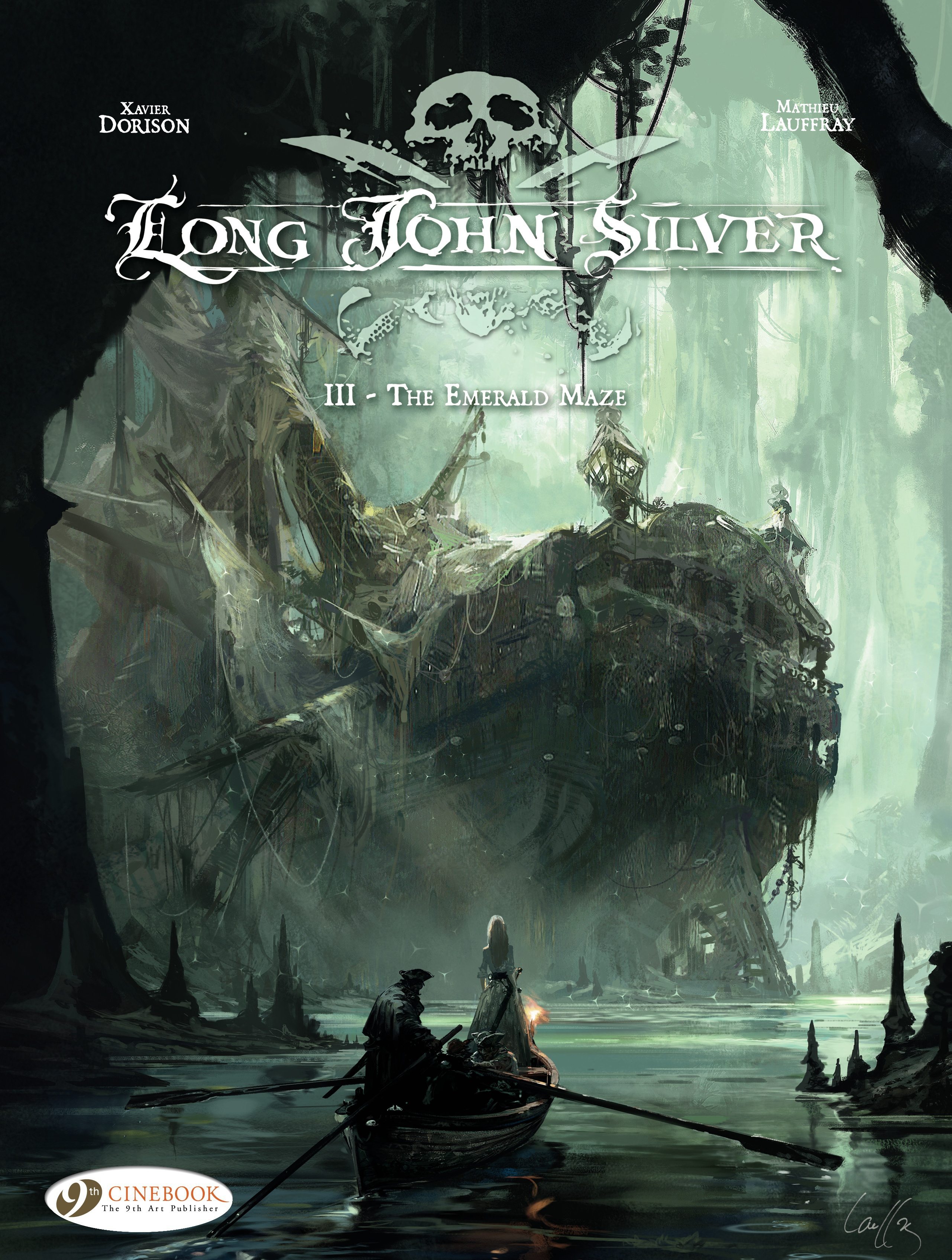 Vignette du livre Long John Silver - Volume 3 - The Emerald Maze