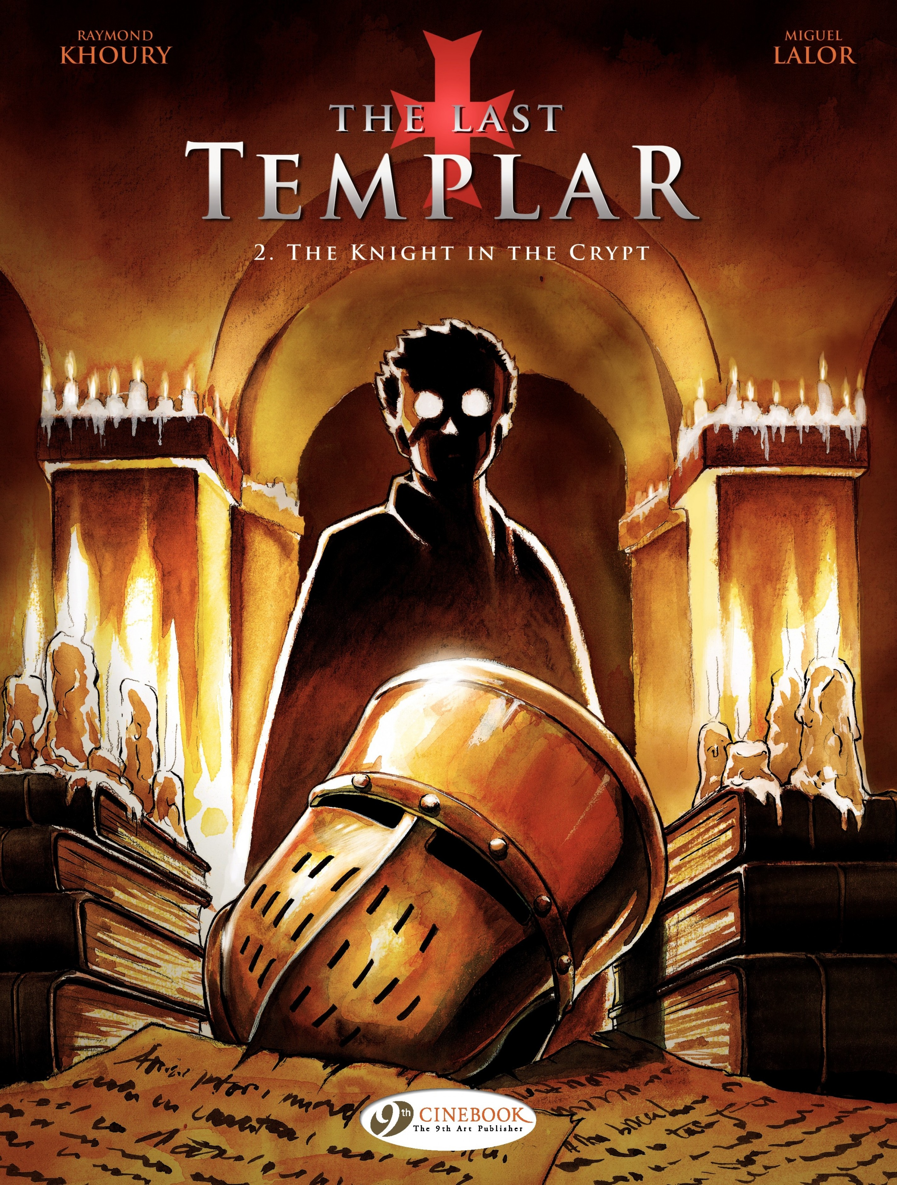 Vignette du livre The Last Templar - Volume 2 - The Knight in the Crypt
