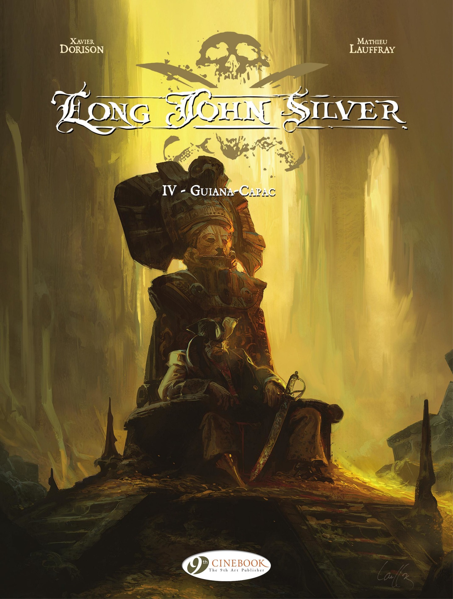 Vignette du livre Long John Silver (english version) - volume 4 - Guiana-Capac