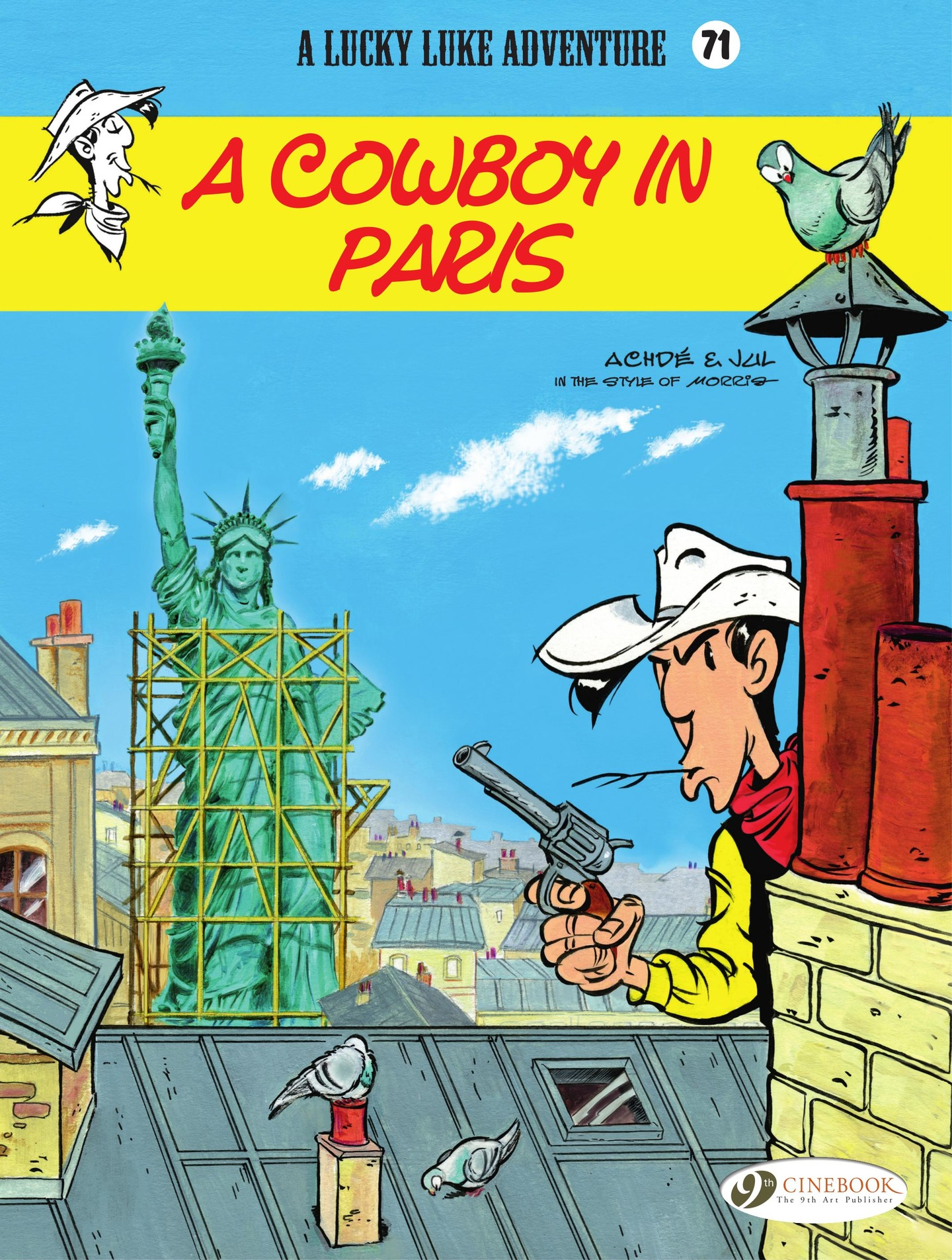 Vignette du livre Lucky Luke - Volume 71 - A Cowboy in Paris