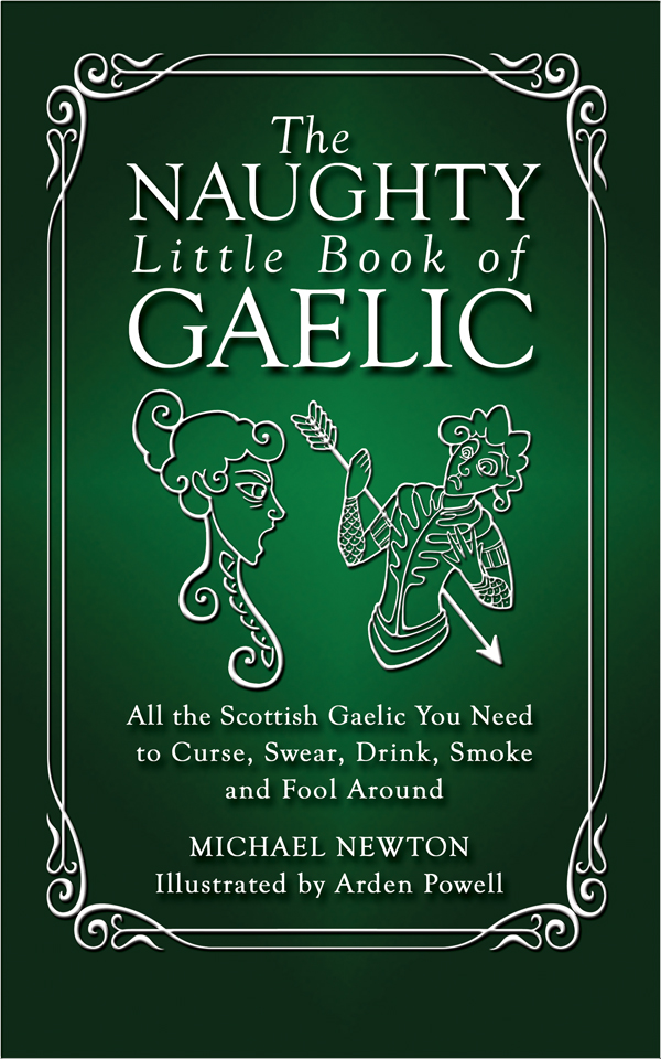 Vignette du livre The Naughty Little Book of Gaelic