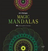 Vignette du livre Magic Mandalas : 12 cartes à gratter