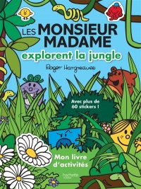 Vignette du livre Les Monsieur Madame explorent la jungle