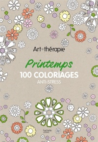 Vignette du livre Printemps.100 coloriages anti-stress